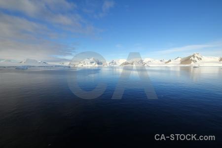 Mountain antarctica marguerite bay adelaide island south pole.