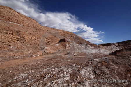 Mountain atacama desert landscape chile sky.