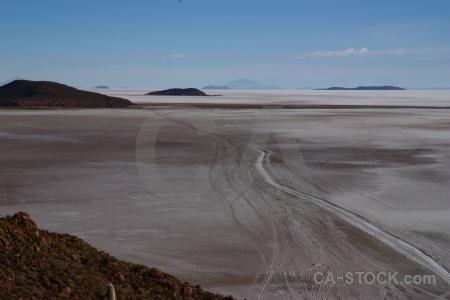 Mountain bolivia landscape salar de uyuni salt.