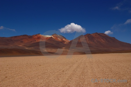 Mountain bolivia valle de dali south america salvador desert.