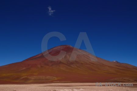 Mountain border landscape altitude andes.