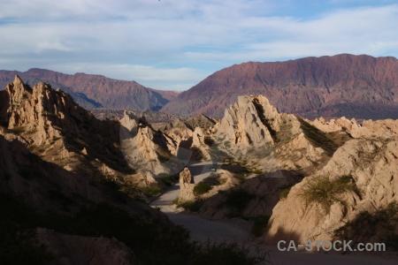 Mountain calchaqui valley bush sky south america.