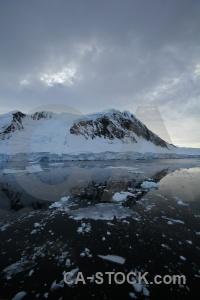 Mountain channel sea ice water cloud.