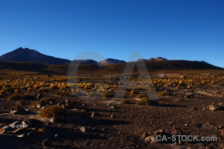 Mountain chile el tatio rock andes.