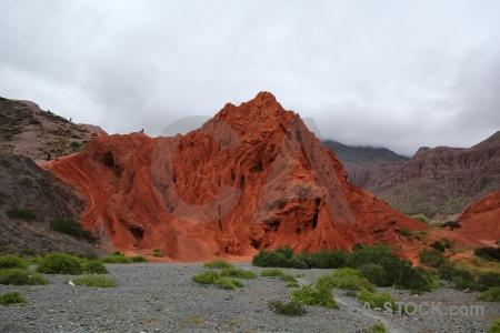 Mountain cliff salta tour cerro de los siete colores cloud.