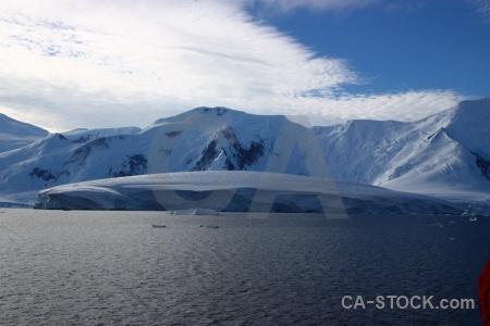 Mountain cloud south pole landscape gunnel channel.