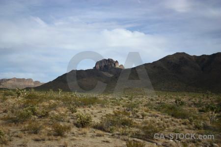 Mountain desert.