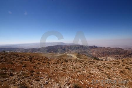 Mountain desert asia middle east jordan.