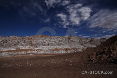 Mountain desert atacama cloud chile.