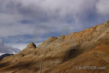 Mountain dry sky china himalayan.
