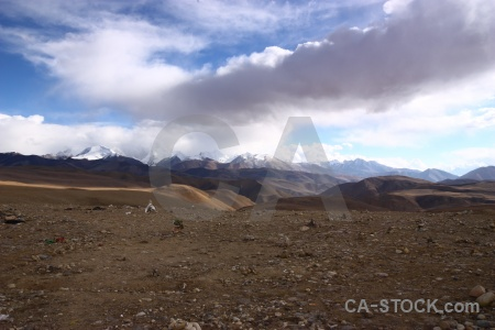 Mountain east asia tibet plateau friendship highway.