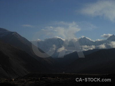 Mountain friendship highway tibet cloud east asia.
