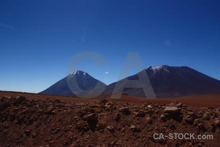 Mountain juriques andes volcano atacama desert.