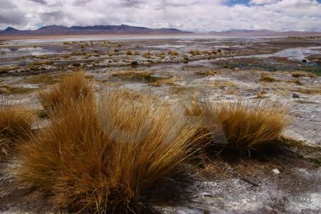 Mountain laguna chalviri landscape lake sky.
