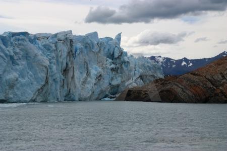 Mountain lake argentino terminus argentina perito moreno.