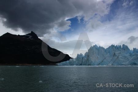 Mountain lake argentino terminus sky lago.