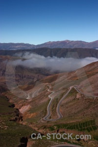 Mountain landscape argentina sky south america.