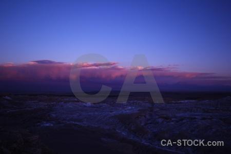 Mountain landscape chile atacama desert valley of the moon.