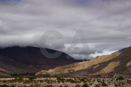 Mountain landscape south america andes cloud.