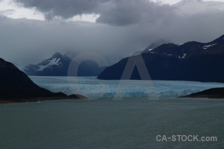 Mountain patagonia south america terminus lake argentino.