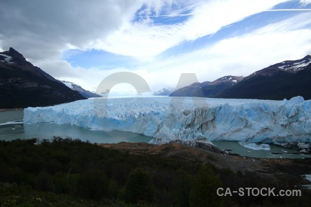 Mountain patagonia water south america sky.