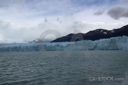 Mountain perito moreno glacier lake argentino lago.