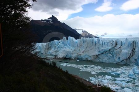 Mountain perito moreno lago argentino sky cloud.
