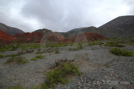 Mountain purmamarca cerro de los siete colores rock cloud.