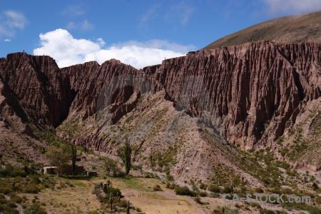 Mountain rock altitude valley south america.