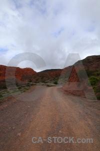 Mountain rock cerro de los siete colores salta tour track.