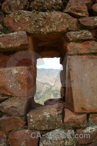 Mountain sacred valley urubamba altitude wall.
