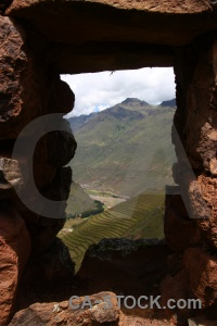 Mountain sacred valley urubamba altitude window.