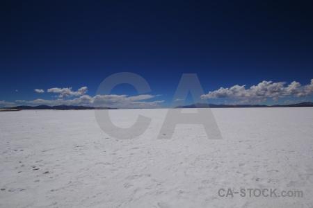 Mountain salinas grandes cloud sky argentina.