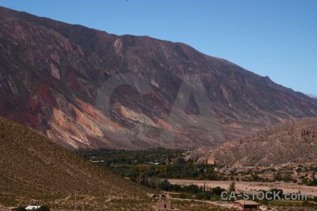 Mountain salta tour sky quebrada de humahuaca argentina.