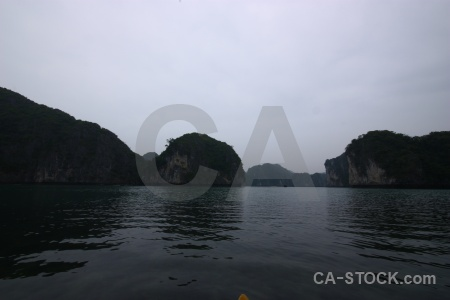 Mountain sky ha long bay asia southeast.