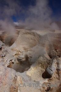 Mountain sky south america bolivia steam.