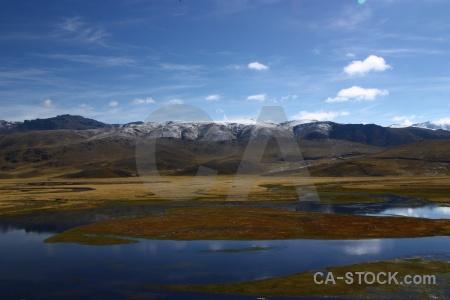 Mountain snowcap sky south america peru.