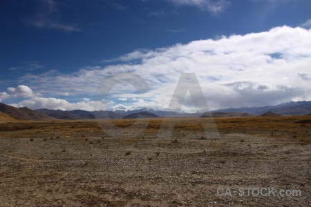 Mountain tibet dry friendship highway east asia.