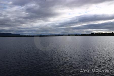 Mountain water south island lake manapouri.