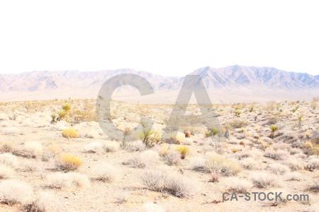Mountain white desert landscape.