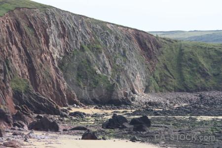 Mountain white rock cliff.