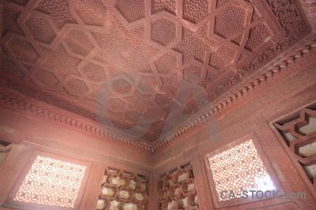 Mughal carving unesco akbar asia.
