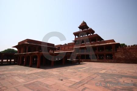 Mughal fatehpur sikri archway asia fort.