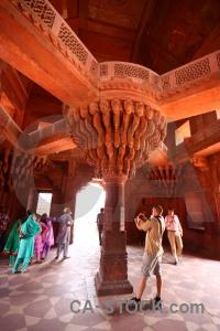 Mughal fatehpur sikri south asia diwan i khas building.