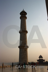 Mughal taj mahal tower person shah jahan.
