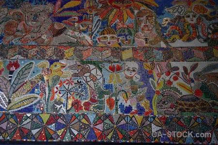 Mural texture australia melbourne tile.
