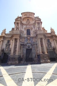 Murcia building santa maria cathedral of murcia.