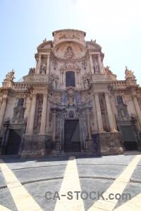 Murcia building santa maria cathedral of murcia.