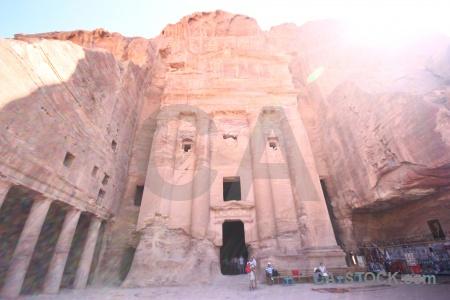 Nabataeans jordan sky petra western asia.