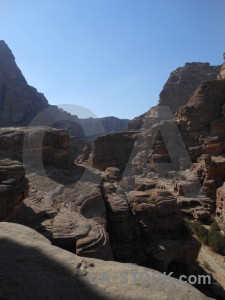 Nabataeans middle east western asia jordan cliff.
